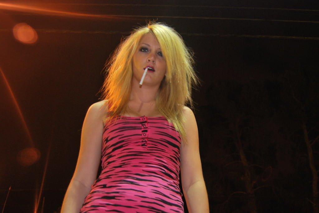 The blond hooker