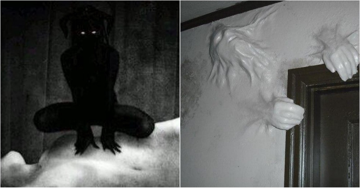 Why do you see shadows in sleep paralysis