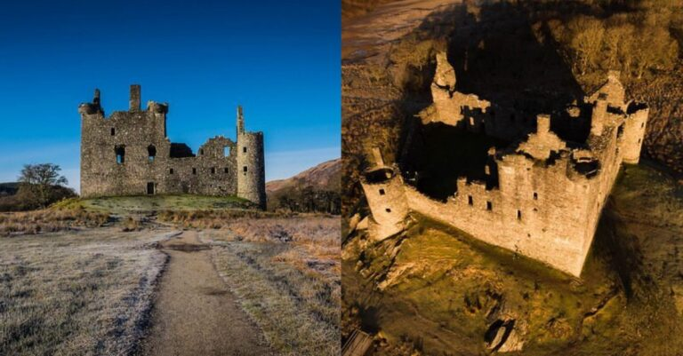 The Scottish Castle Ruins Which Was Abandoned After Lightning Struck It