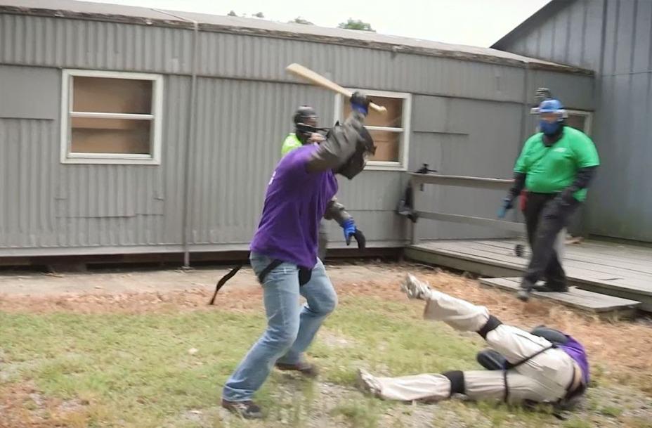 Attack with Baseball Bats