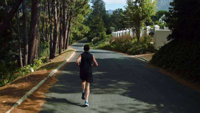 A man was shot to death while jogging
