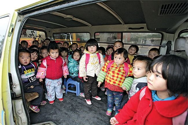 A bus full of children were kidnapped and held for ransom