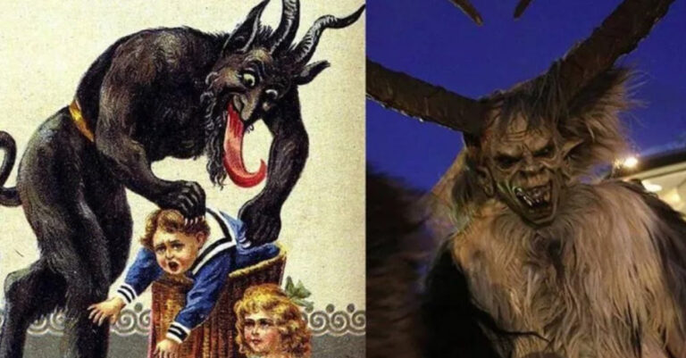 Krampus, Santa's Partner Keeps Coming Back Even Though He Has Been Banned By The Catholic Church In Central Europe