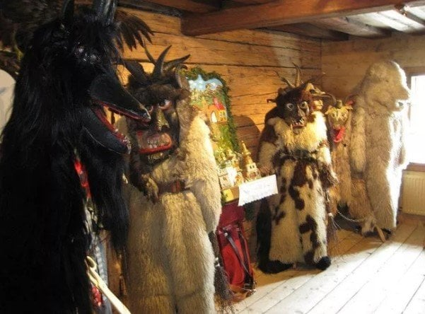 terrifying Christmas demons