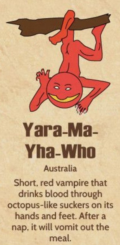 Yara-Ma-Yha-Who