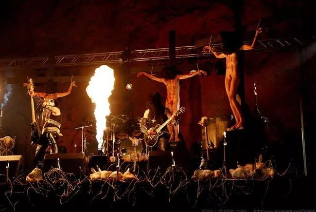 Gorgoroth Hosted an Illegal Black Mass in the Pope's Birthplace