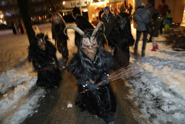 Some Children Are Even Excited About Donning Their Own Krampus Costumes
