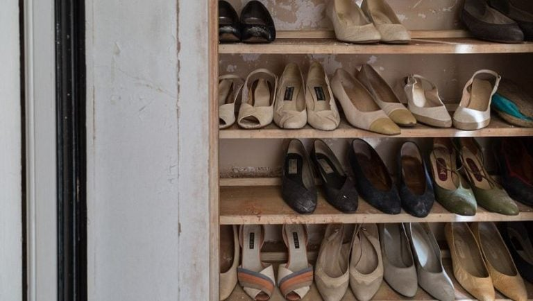 An impressive collection of women's footwear