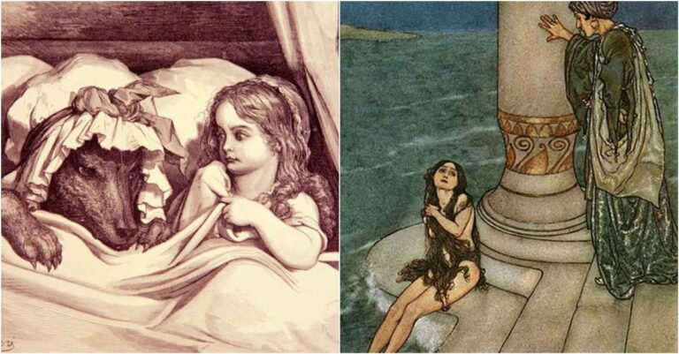 9 Beloved Fairy Tales With Horrific Origin Stories