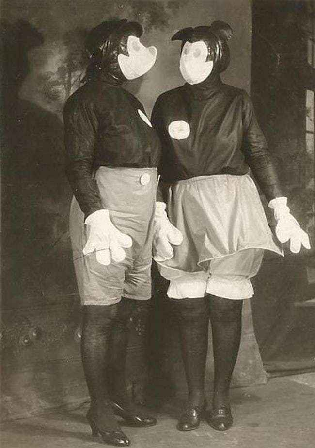 Mickey and Minnie from 1931