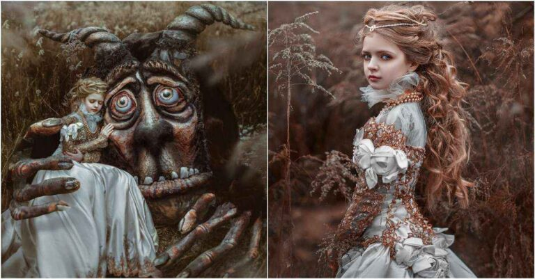 The Tale of The Beauty And The Beast In These Pictures Will Mesmerize You.