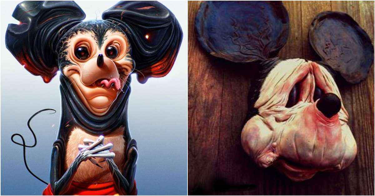 The Top 50 Weird Mickey Mouse Pictures Ever