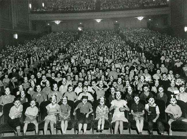 A Theater Full Of Mickeys