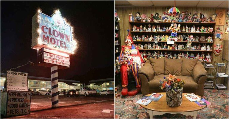 Creepy Clown Motel Near Nevada Is A Place You Shouldn't Miss!