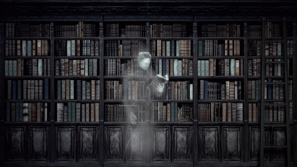 A tormented library
