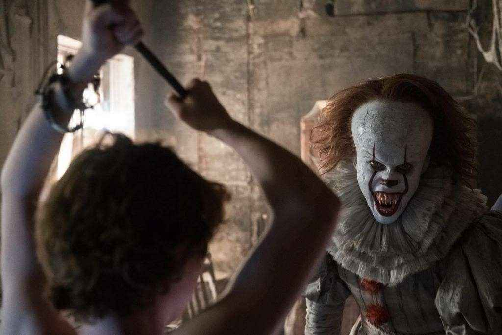 Pennywise's laughter is scary