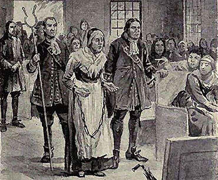 Rebecca Nurse's Trial