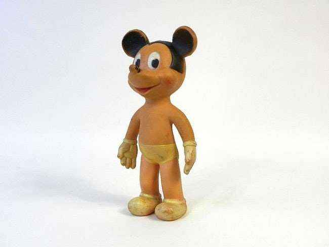 Oh the naked mickey