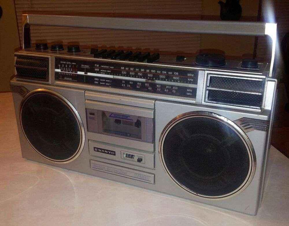 old stereo speaker