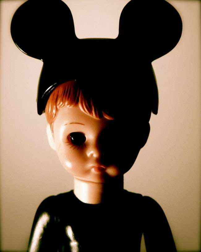The spooky mickey doll