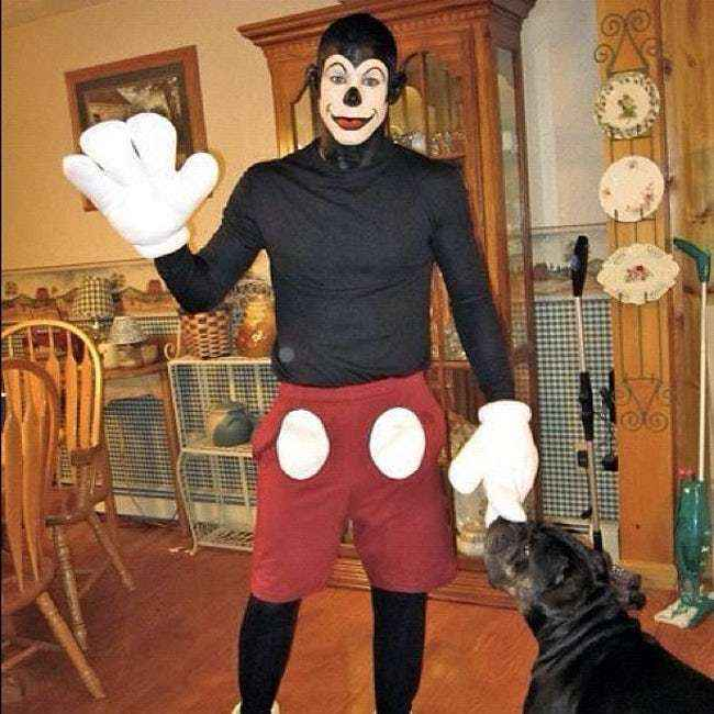 This guy took Mickey to a whole new level