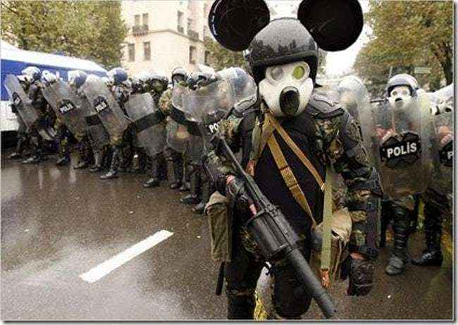 A force of Mickeys