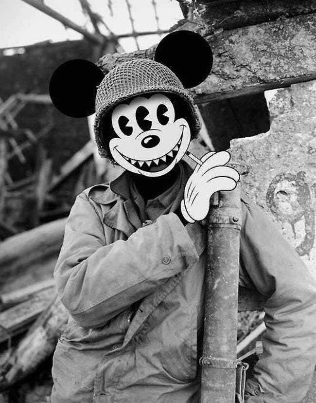 Mickey from World War 2