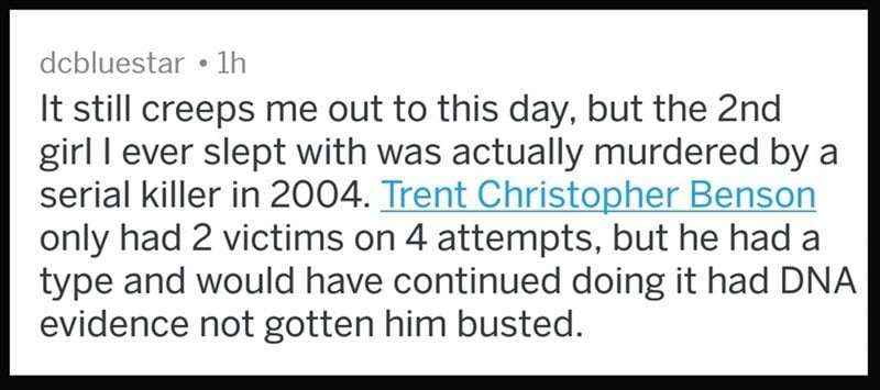Trent Christopher Benson- Murderer and Rapist