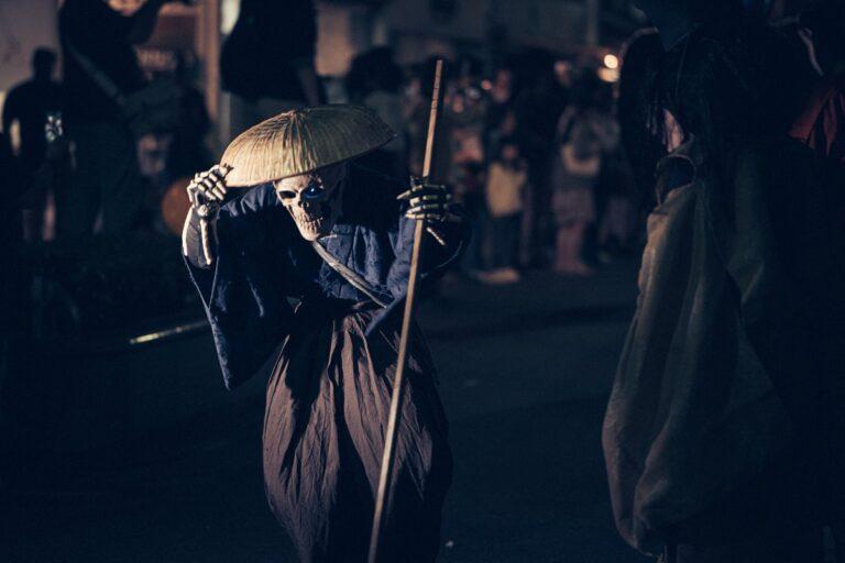 Demon Procession Terrifies Tourists in Japan