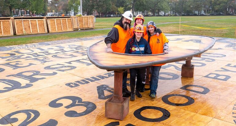 Giant Ouija Board Unveiled in Salem