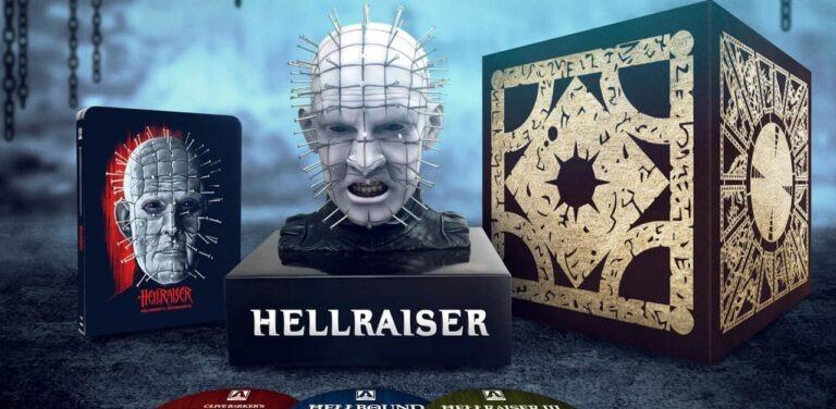 Hellraiser Trilogy Steelbook, Featuring Pinhead Bust, Coming In 2020