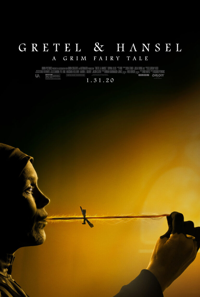 Gretel and Hansel:New Poster Features Cannibal Witch