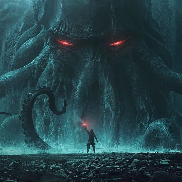 Cthulhu, Del Toro and Cruise:Movie at The Mountains of Madness