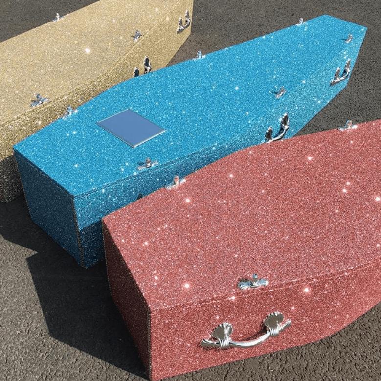 Glitter Coffin
