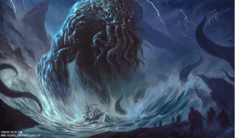 Cthulhu RPG Makers Defend Calling Out Lovecraft As 'Racist Motherf***er'.