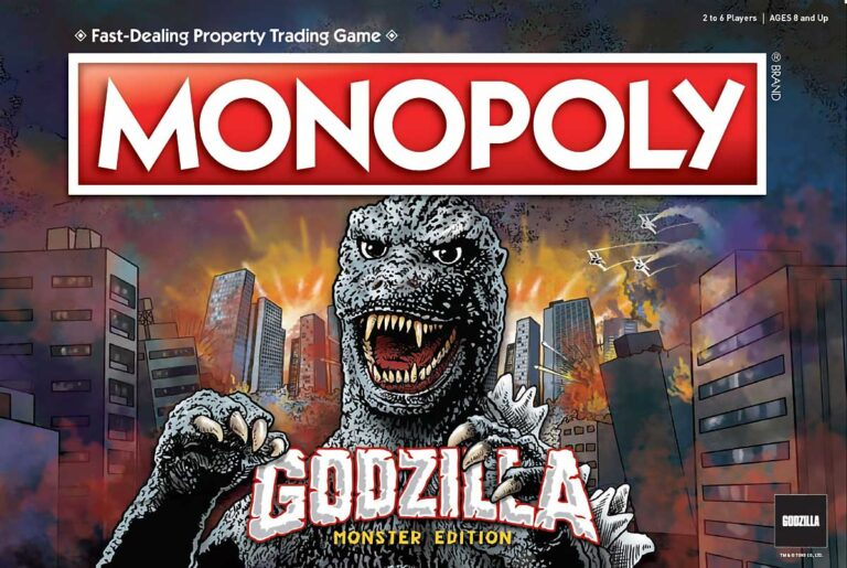 Godzilla Monopoly Game: Pre-Order Available Now.