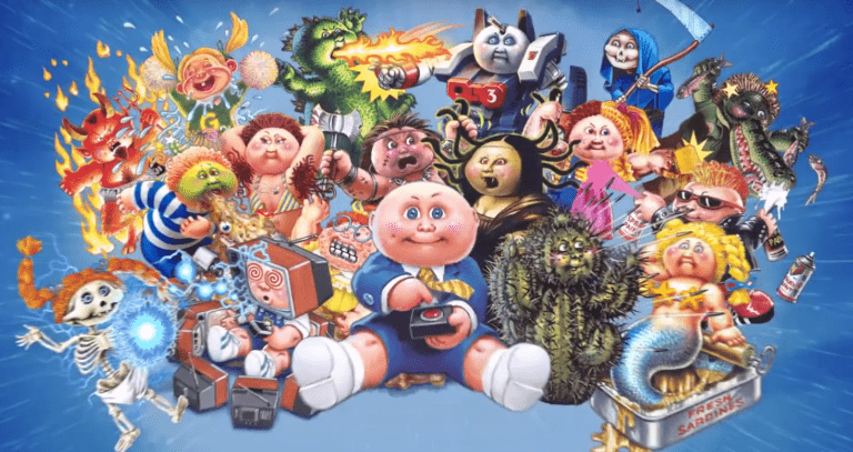 Goosebumps Author R.L. Stine is Releasing 'Garbage Pail Kids' Books