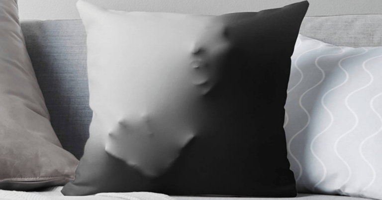 These 3D Pillowcases Make It Look Like Someone Is Trapped Inside Your Pillow