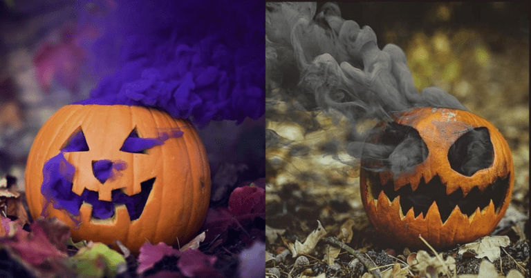 Make These Pumpkin Smoke Bombs In-Time For Halloween In 3 Easy Steps