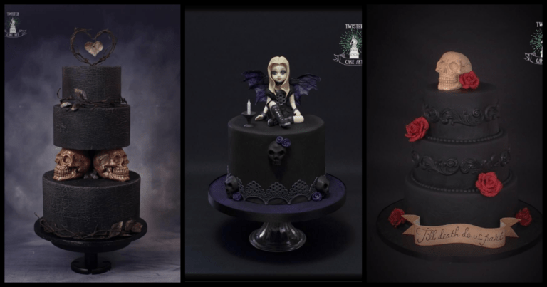 These Goth Cakes Are The New Trend