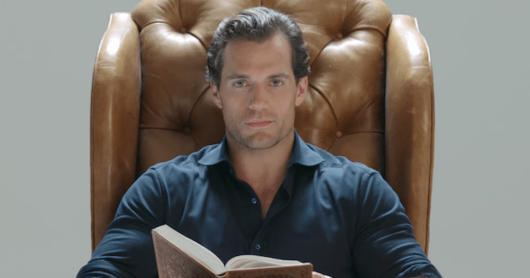 Watch As Henry Cavill Reads 'The Witcher' To You While You're Stuck At Home
