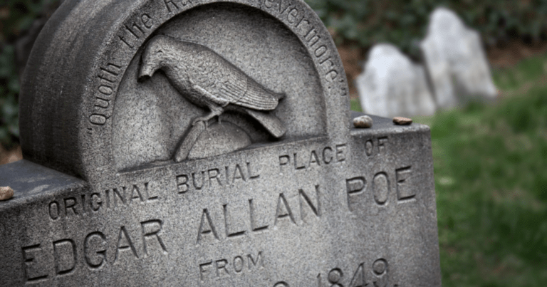 Edgar Allan Poe Fans Can Visit His Resting Place