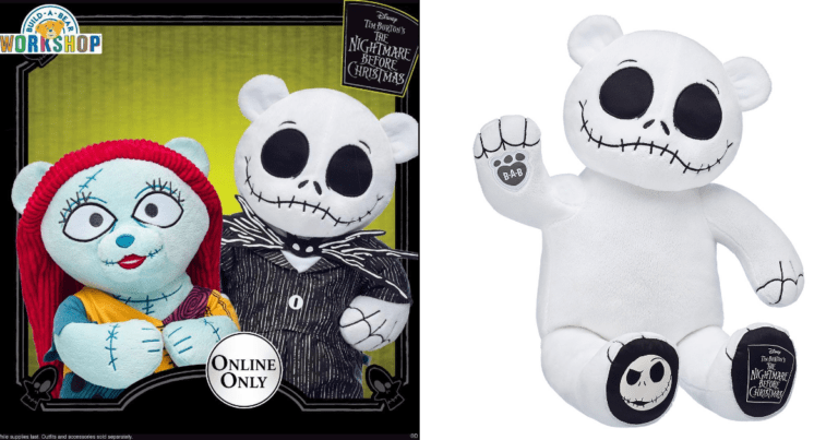 Build-A-Bear's New 'Nightmare Before Christmas' Collection Combines Creepy With Cute