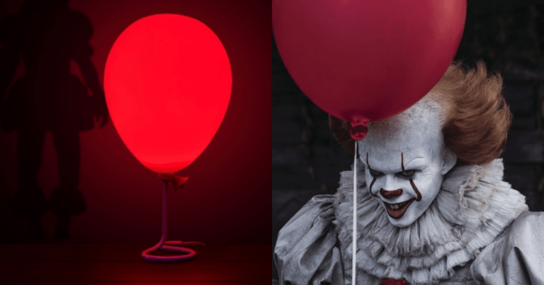 You'll Float Too If You Get This Famous Pennywise Balloon Lamp
