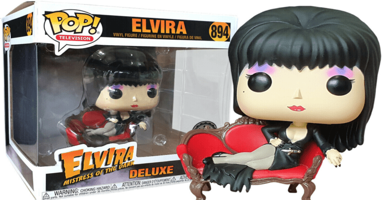 Mistress of the Geeks – Elvira Funko Vinyls Announced