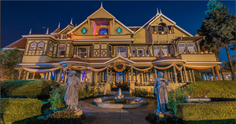 Take A FREE Virtual Tour Through The Winchester' Haunted Mansion