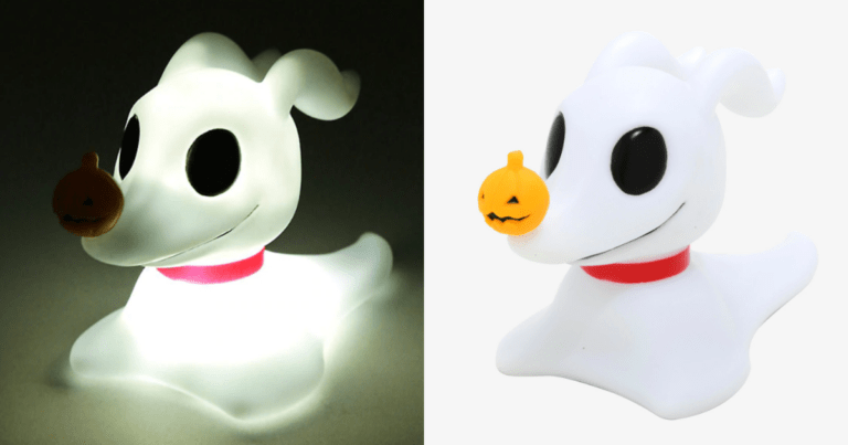 You Can Now Get This Nightmare Before Christmas Zero Lamp
