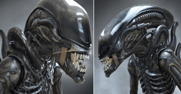 Alien Fans Can Now Buy An 8 Foot Xenomorph Statue.