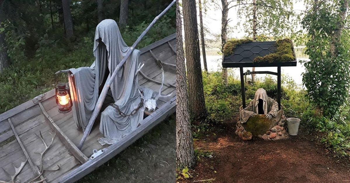Hanna Pilve Creepy Garden Decorations Feature