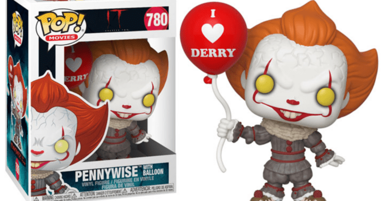 Get Yourself A Pennywise POP! Vinyl Figure Before It's Too Late!